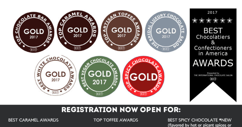 2017 Chocolate AWARDS Call for Entries Extended to May 22nd