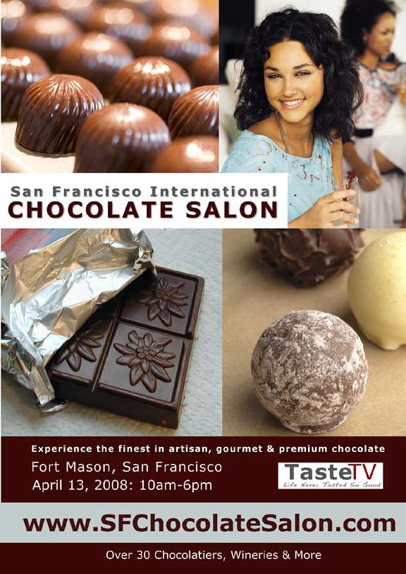 Big City Chefs' favorite chocolatiers will be at the San Francisco International Chocolate Salon