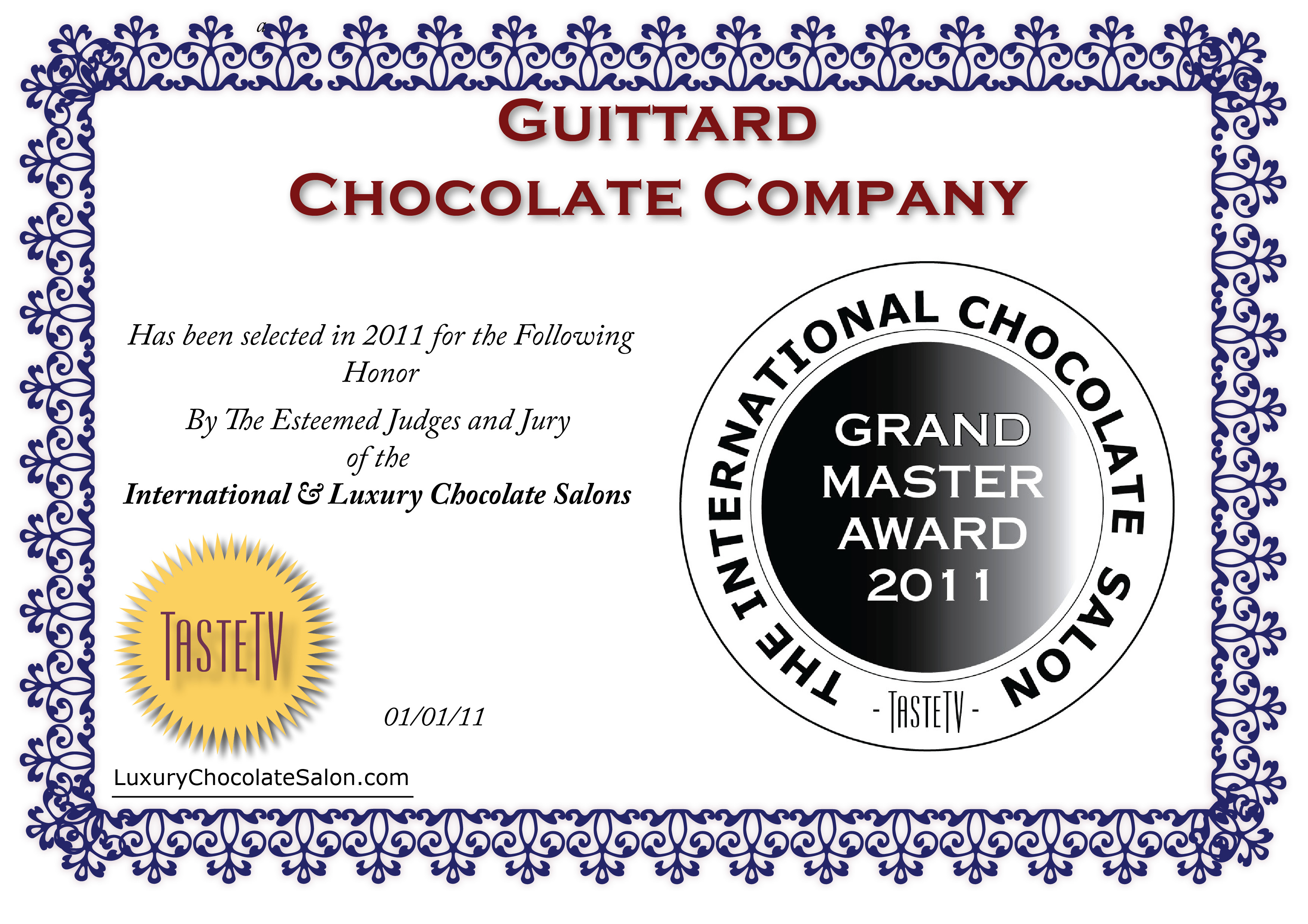 Best Chocolatiers and Confectioners in America AWARDS