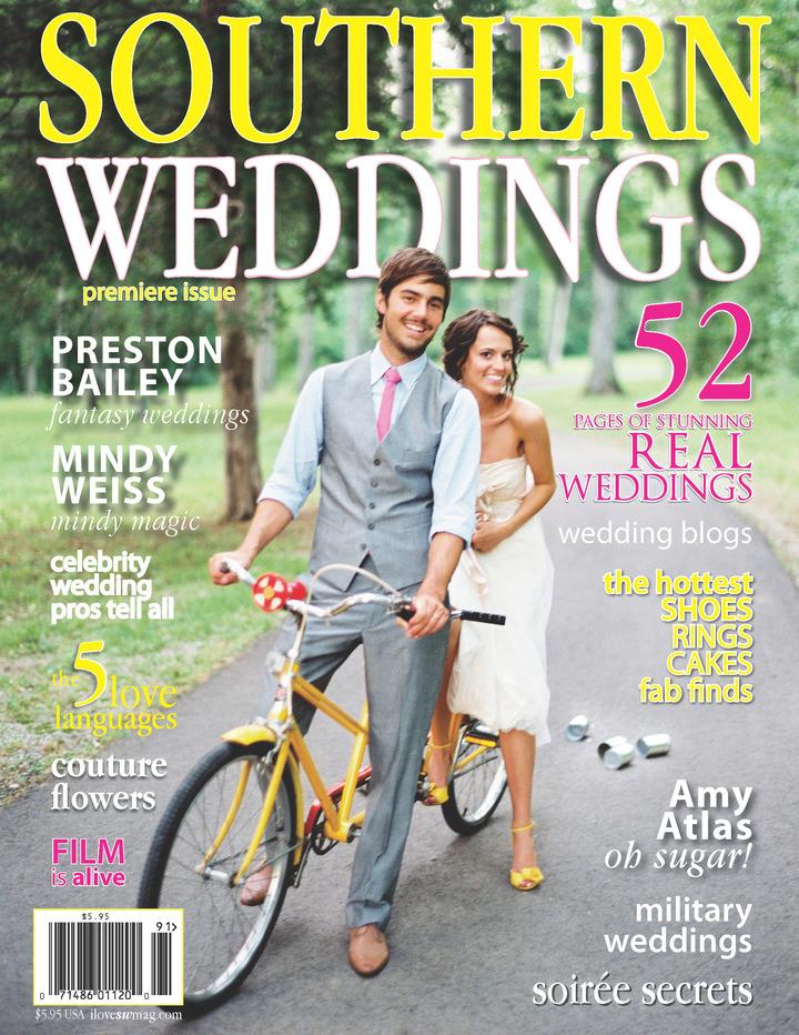 southern bride groom magazine press