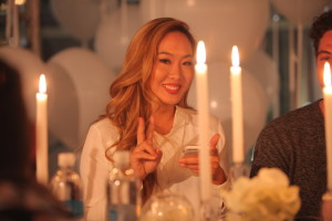 Dani Song at smartwater sparkling Insider Collective dinner at W Hollywood