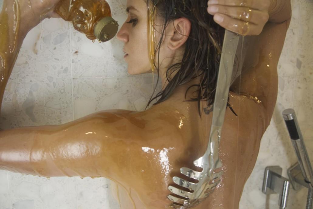 Snax (Honey Shower) by Justin Schwan and Natasha Pearl Hansen