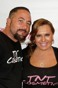 Owners of TNT Cosmetics - Hoyt and Tasha Castagna
