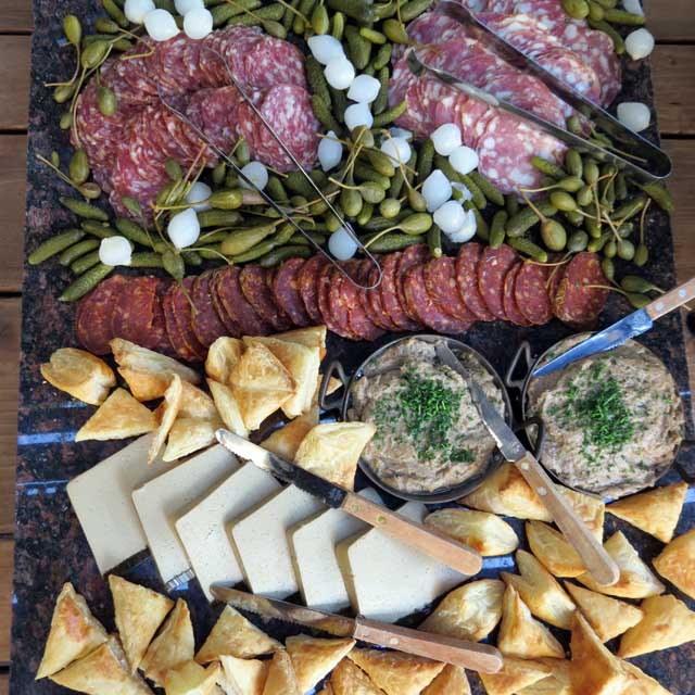 Luxury hors d'oeuvres from 620 Jones