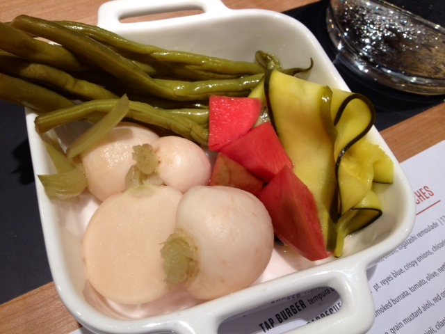 HOUSE PICKLES local seasonal vegetables, mixed brines
