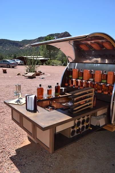 Bulleit Whiskey Woody Tailgate Trailer-image004