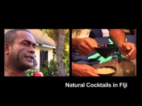 Natural Cocktails in Fiji