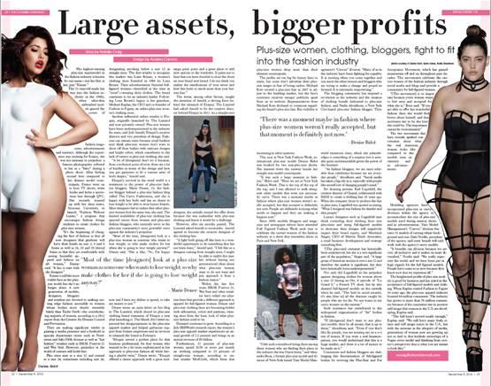 plus-size articles