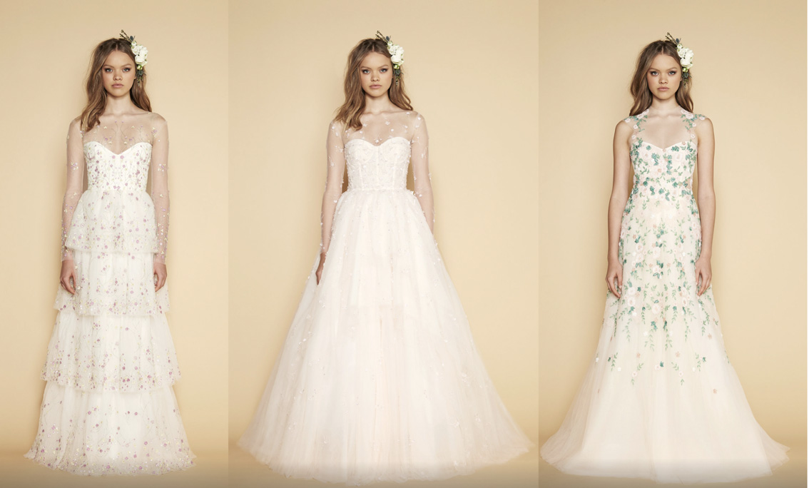 Elegant Bridal Gowns inspired by Belle in Beauty and the Beast ...