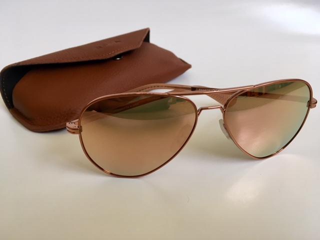 46070499df Roka Phantom Sunglasses gleam in Molten Rose Gold Metal – TasteTV