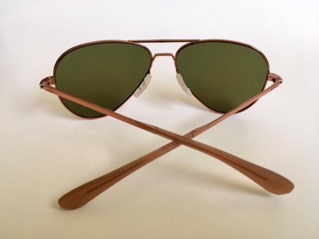93c7ea7a29 Roka Phantom Sunglasses gleam in Molten Rose Gold Metal. PreviousNext
