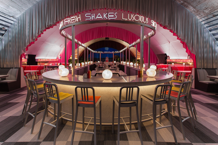 Popup Restaurant: The Diner By David Rockwell + Surface With 2×4